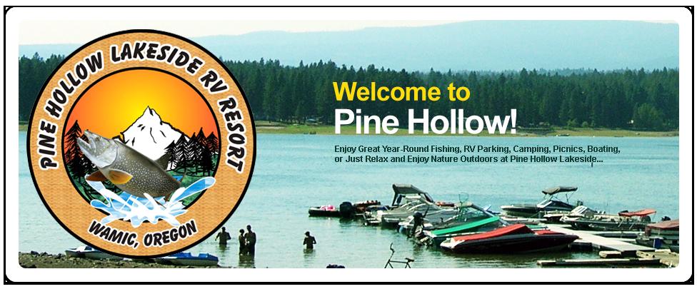 Pine Hollow Lakeside Resort & RV Park   Wamic, OR